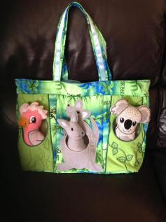 0308 Kathy K Marley‎ Australian Animals bag