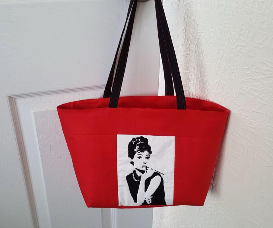 1307 Elaine Preston Audrey Hepburn tote