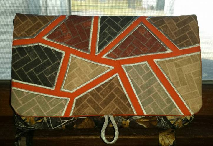 dawn Thompson hockgeiger mosaic clutch purse bag autumn
