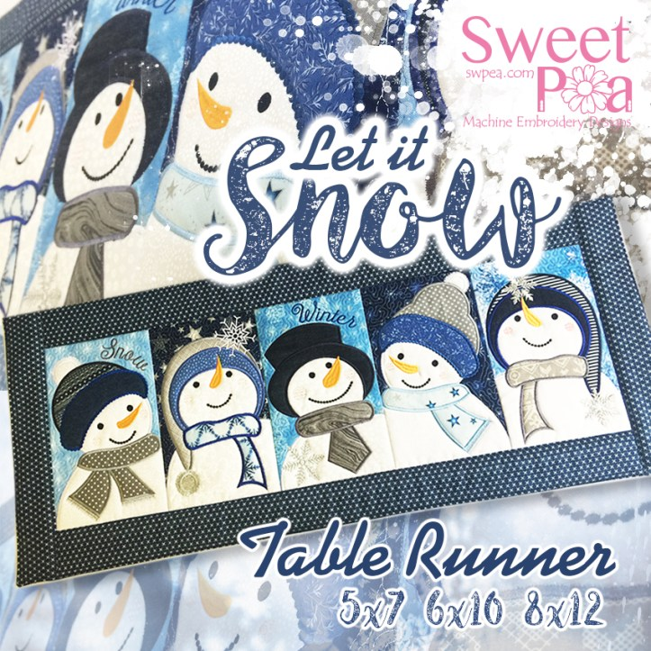 Let it Snow Table Runner 5x7 6x10 8x12 in the hoop.jpg