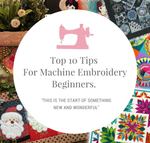 Top 10 tips For Machine EmbroideryBeginners.