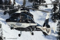 Eurocopter EC-155B-1 - cn: 7003 - 3A-MTG - Monacair - CVF Courchevel 13.03.2016 by Gregory Manchon