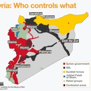 Syria Map (August 2016)