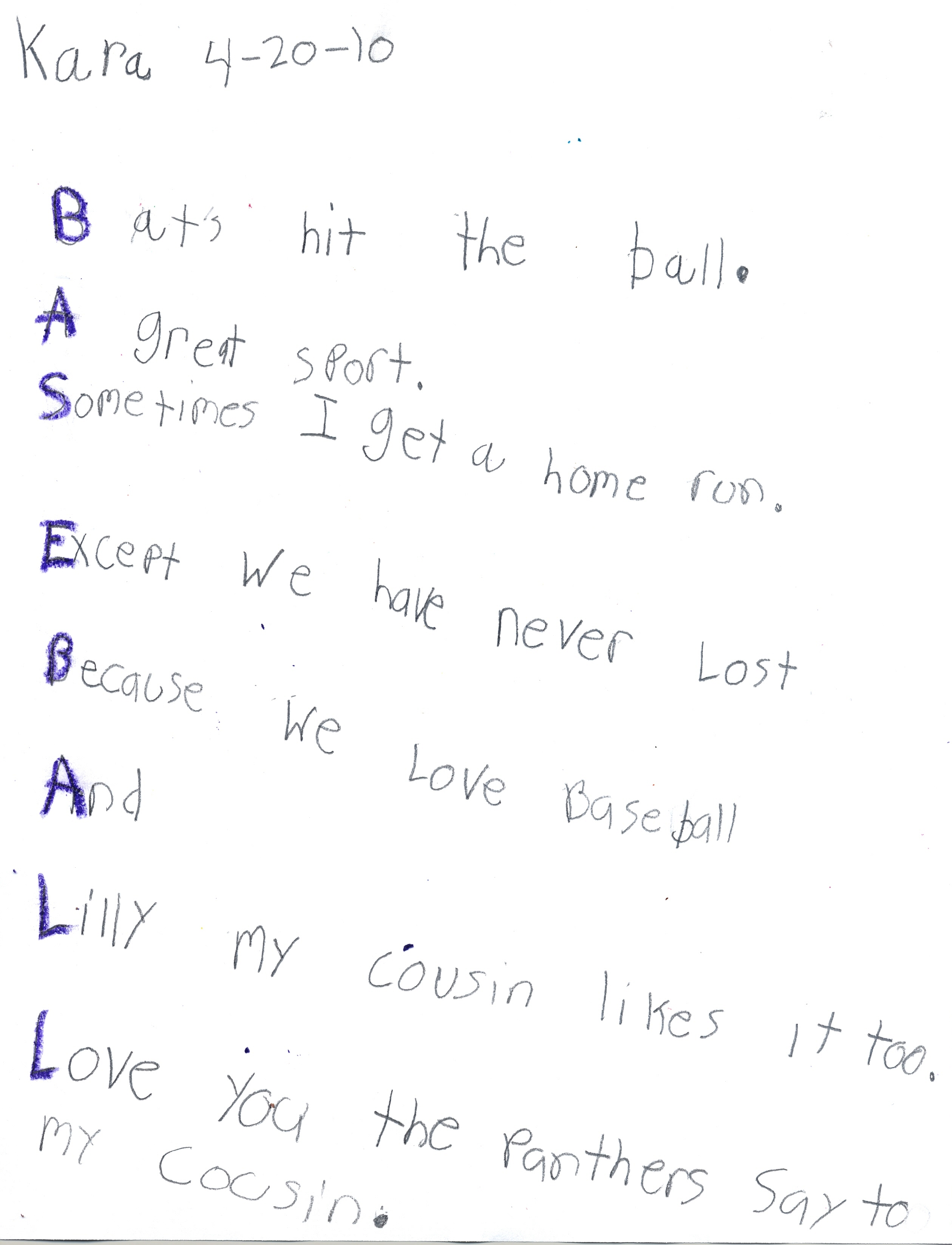 Pin Short Softball Poems on Pinterest