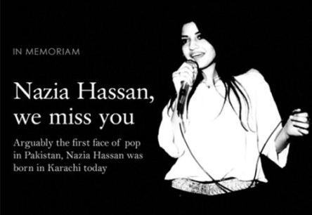 Nazia Hassan (1965 - 2000)