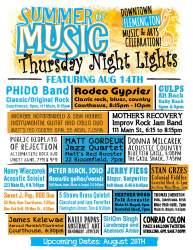 Flemington's Thursday Night Lights Poster