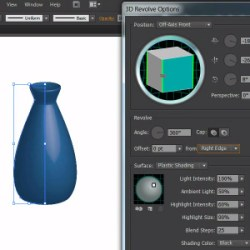 Revolving Objects in Illustrator