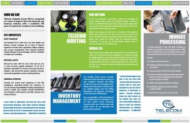 Telecom Integrity Group Brochure Inside