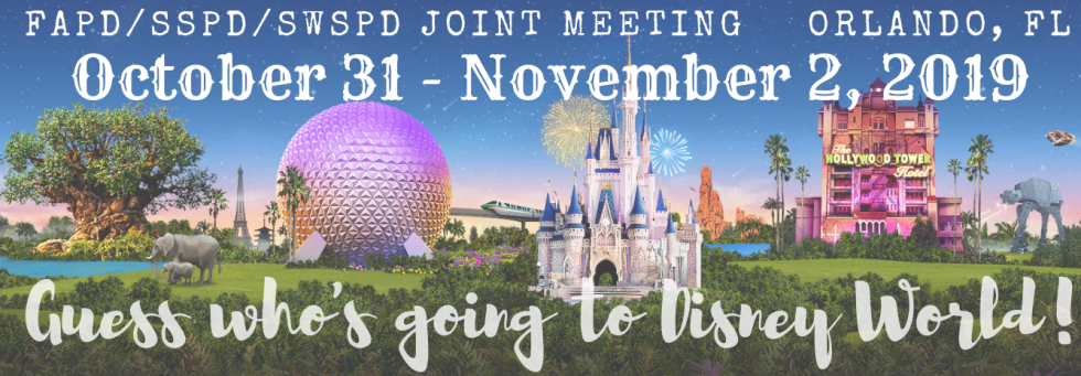 Joint Meeting at Walt Disney World - Southwestern Society of