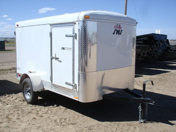 Enclosed Cargo Trailers  SWS Truck Bodies  Trailers