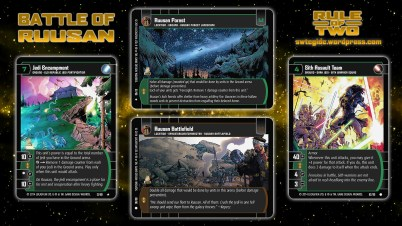 Star Wars Trading Card Game ROT Wallpaper 3 - Battle of Ruusan
