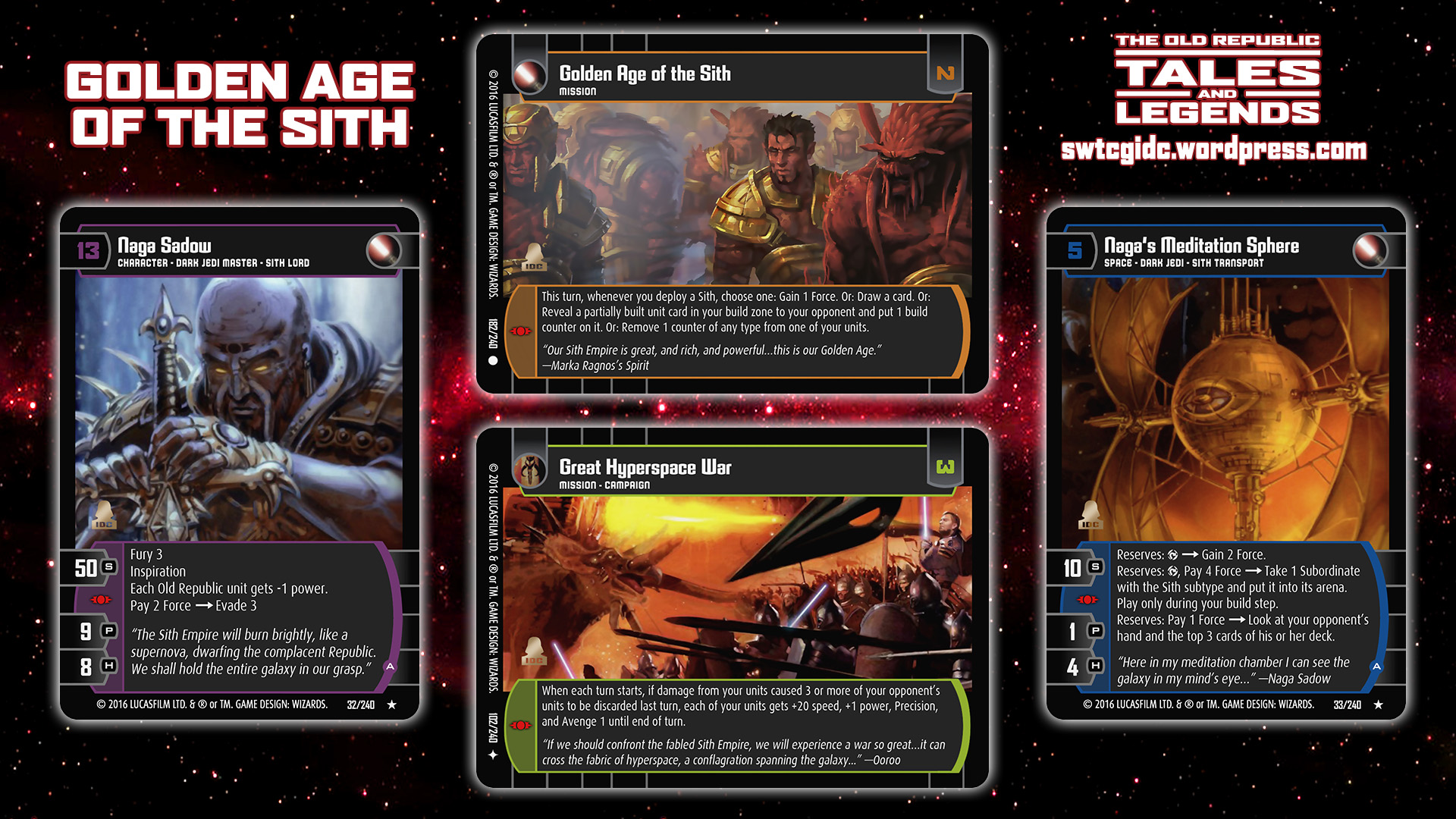Legends Of The Fall Wallpaper Tales And Legends Star Wars Trading Card Game