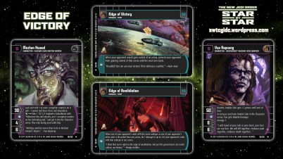 Star Wars Trading Card Game Star by Star Wallpaper 1 - Edge of Victory