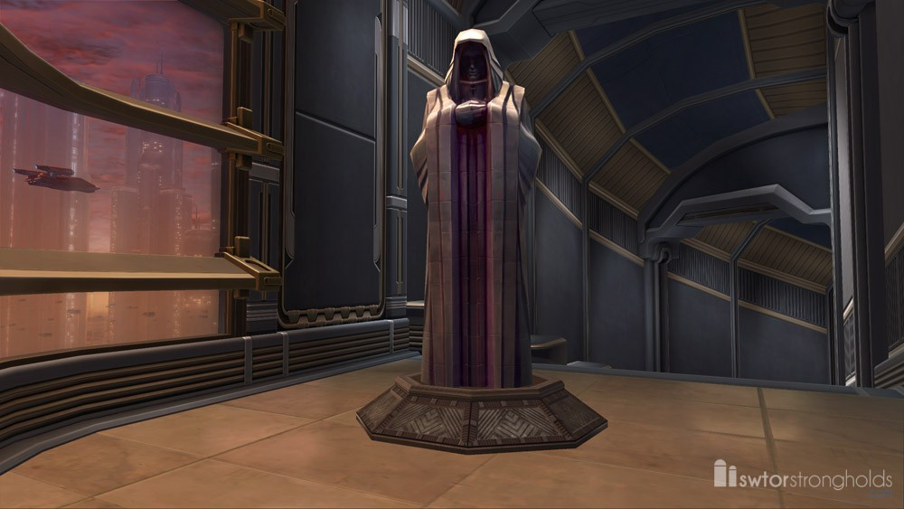 Sith Decorations  SWTOR Strongholds