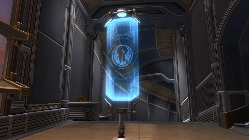 Flag Republic Hologram Decoration  SWTOR Strongholds