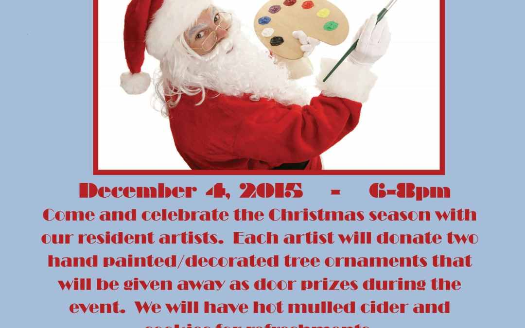 A Brush with Christmas