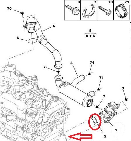 Чип-тюнинг Citroen C4 Grand Picasso 1.6 HDI. Удаление