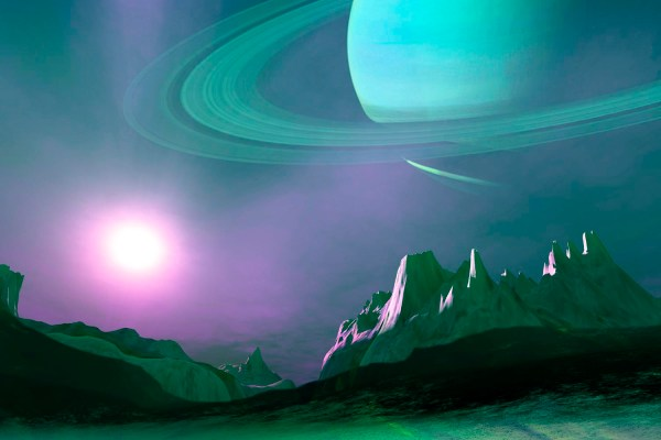 What Does Saturn's Moon Titan Look Like