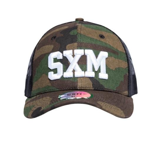 Casquette SXM trucker camouflage