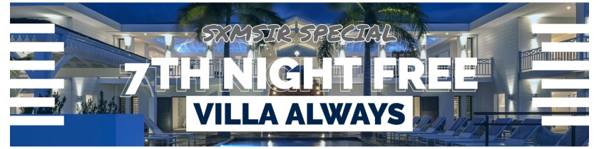 7th night free at villa always