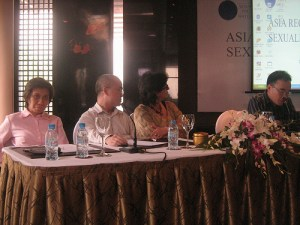 Malu Marin, Le Bach Duong, Rosalia Sciortino and Le Minh Giang