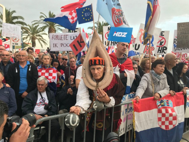 Split Protest Sven Milekic Photo