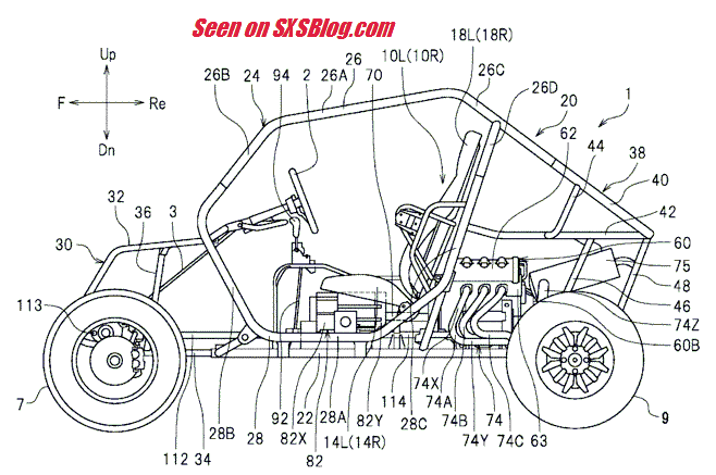 BREAKING! New Yamaha YXZ drawings released in Yamaha patent!