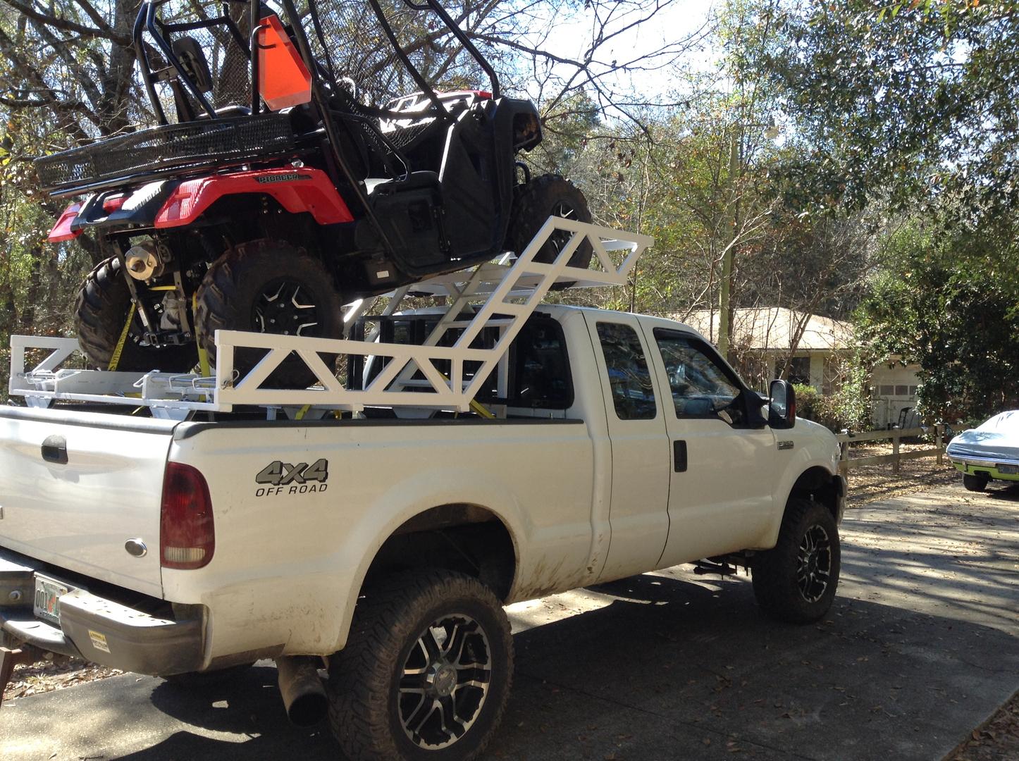 side by side truck racks handmade in