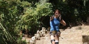 Lara Croft Tomb Raider Anniversary cosplay by SxyBlood Cosplay