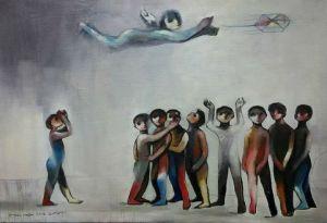 الفنان اسماعيل نصرة.