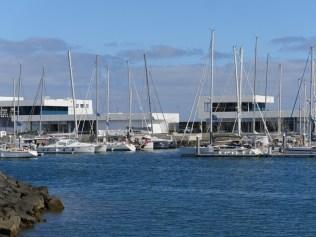 Unsere ME in der Marina Lanzarote