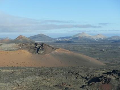 Vulkanlandschaft im Nationalpark Timanfaya