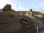 Sandkrippe - Maria und Josef