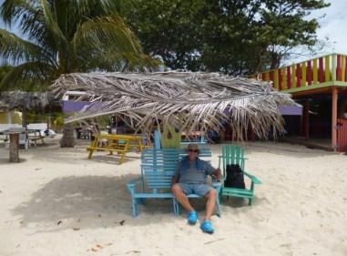 Kurze Rast am Paradise Beach
