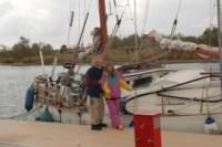 Siggi und Jürgen mit ihrer Petit Prince in Port Napoleon