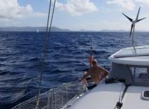 Abfahrt von Martinique
