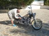 Wer sein Moped liebt, der putzt