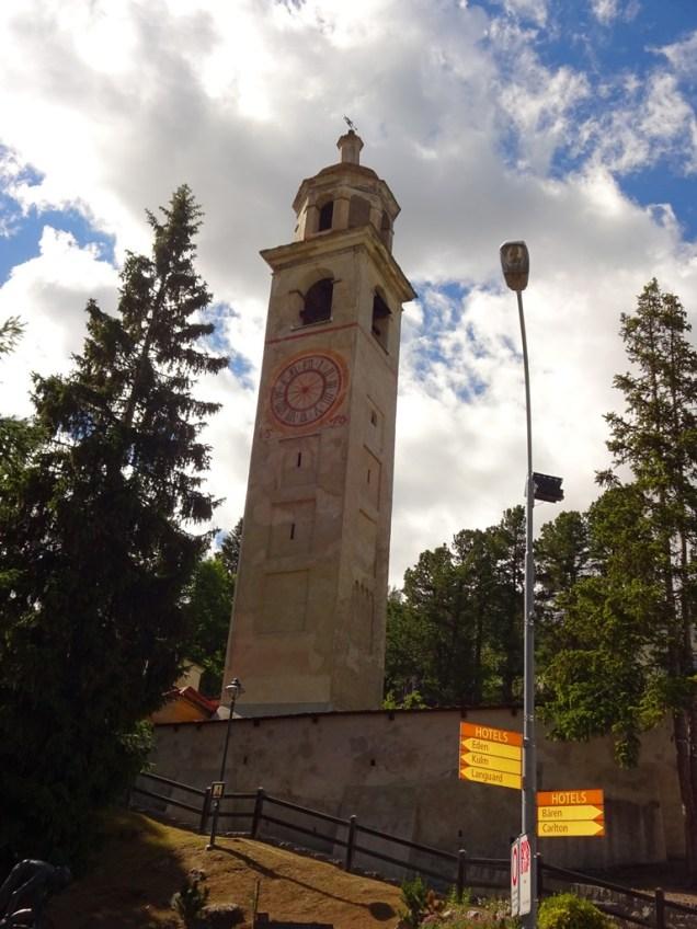 Schiefer Turm von St.Moritz