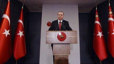 صورة صرح الرئيس التركي. أردوغان: نتطلع لنجاحات عالمية بعد تخطي كورونا