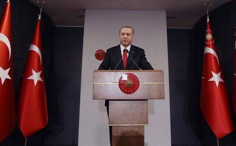 صرح الرئيس التركي. أردوغان: نتطلع لنجاحات عالمية بعد تخطي كورونا
