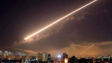 صورة بالفيديو ..النظام السوري يعلن التصدي لقصف إسرائيلي بمحيط دمشق