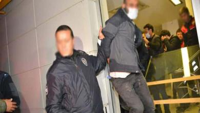 صورة القبض على سارق حاول سرقة بنك في أضنة التركية