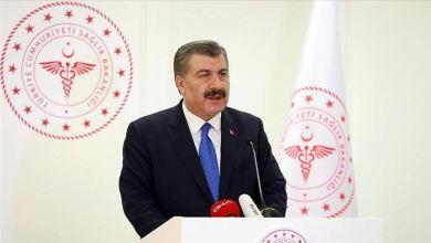 صورة تصريح وزير الصحة التركية: من إزدياد الحالات في هذه الولايات