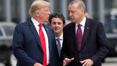 صورة أردوغان يفاجئ ترامب برسالة مع المساعدات..