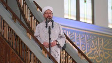 صورة رئيس الشؤون الدينية التركي يوجه رسالة طمئنة للشعب والمقيمن في تركيا بشأن الكورونا