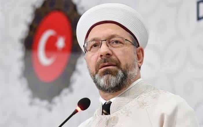 رئيس الشؤون الدينية التركي