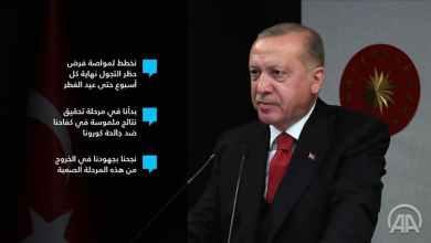 """صورة الرئيس التركي …بدأنا نحقق نتائج إيجابية ضد """"كورونا"""""""