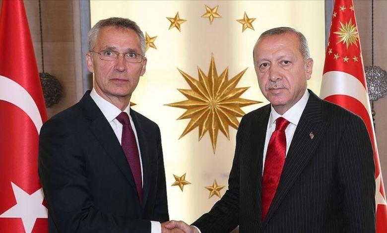 وستولتنبرغ - أردوغان وستولتنبرغ يبحثان ملفي سوريا وليبيا