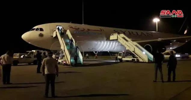 السوري - ماسبب هبوط طائرة.. من الإمارات إلى دمشق في منتصف الليل