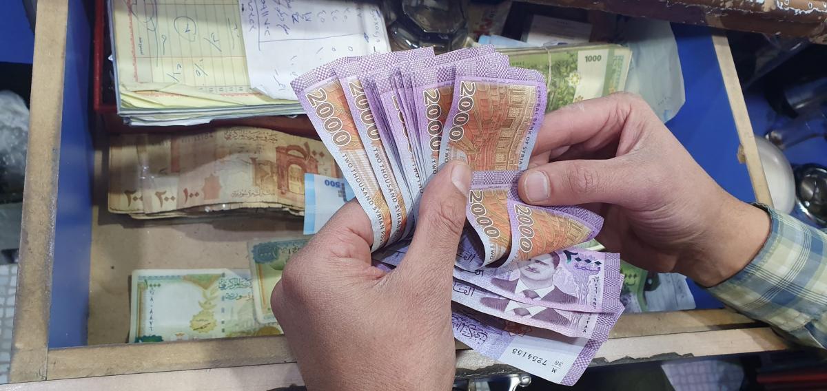 أسعار تداول العملات العربية والاوروبية امام الليرة السورية الاثنين 29/06/2020